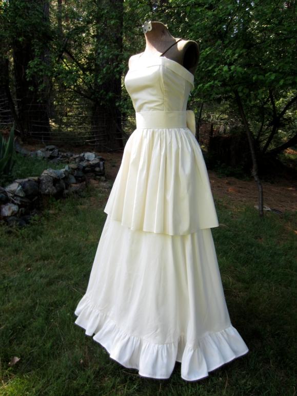 handmade Wedding dress – brighteststaroriginals