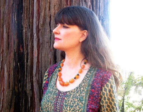 bakelite amber necklace byme