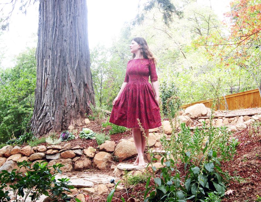 rred dress byme